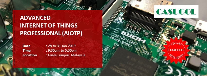 Open for Enrollment! Advanced Internet of Things Professional (AIOTP) International Certification